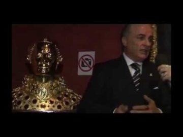 Busto di San Gennaro Donazione di S.M. Don Marcello Maria I della REPLICA UFFICIALE e UNICA